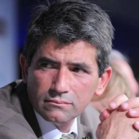 Raúl Sendic apresentou sua renúncia à vice-presidência do Uruguai pelo twitter Foto: Darwin Borrelli / El País/Uruguai/GDA/Arquivo