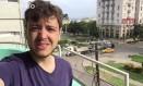 Breno Salvador, de férias em Havana, relata momentos antes da chegada do furacão Irma Foto: O Globo