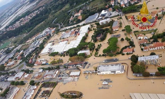 Tempestades deixam cinco mortos na Itália