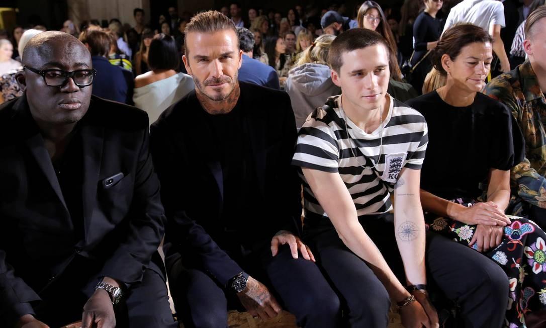 David e Brooklyn Beckham ANDREW KELLY / REUTERS