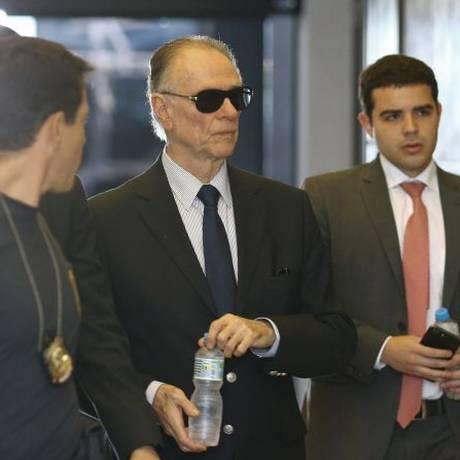 Unfair Play: Nuzman chega à sede da PF para prestar depoimento na terça Foto: Pablo Jacob / Agência O Globo