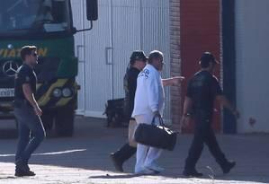 Transferência do ex-ministro Geddel Vieira Lima para Brasília - 08/09/2017 Foto: Jorge William / Agência O Globo