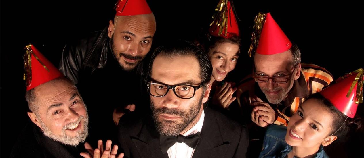 'A festa de aniversário': crítica política marca obra de Harold Pinter Foto: Divulgação / Thiago Ristow
