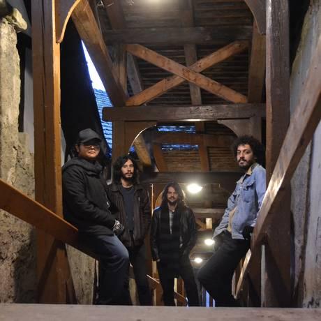 Banda Stone House On Fire é uma das atrações do projeto Foto: Divulgação