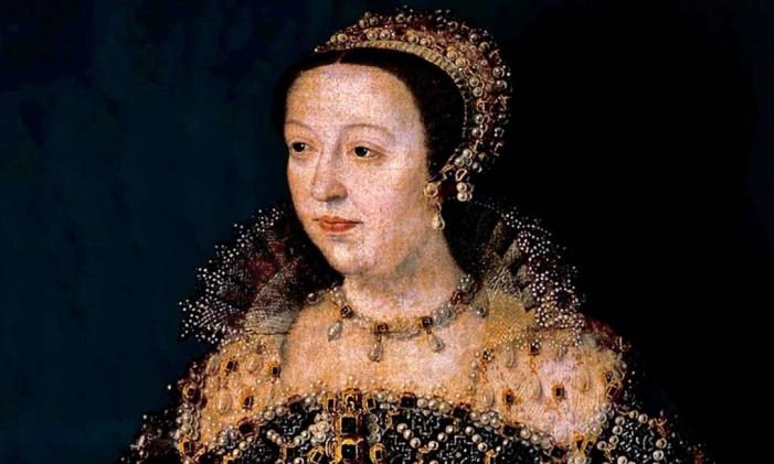 Catarina de Médicis, rainha da França Foto: Reprodução