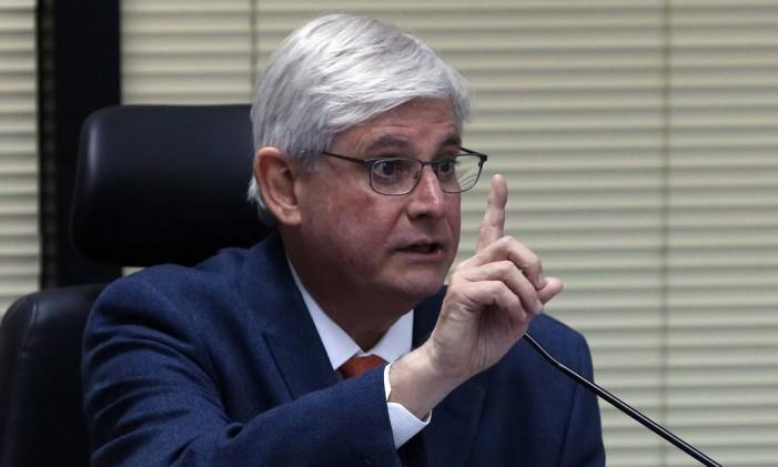 O Procurador-Geral da República, Rodrigo Janot Foto: Givaldo Barbosa / Agência O Globo 04/09/2017