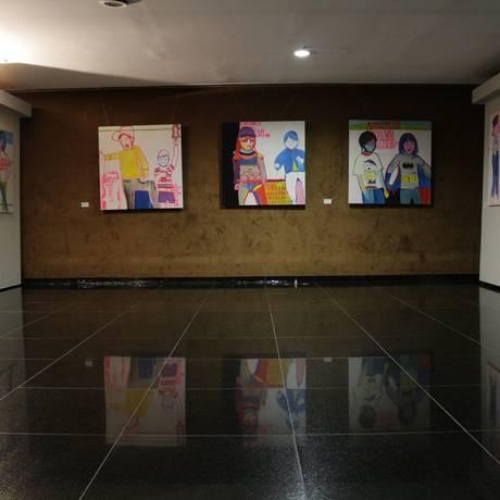 A série 'Criança viada' exposta na Câmara dos Deputados Foto: Webert da Cruz / Divulgação