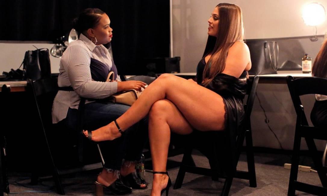 Antes da apresentação, ela deu entrevistas ANDREW KELLY / REUTERS