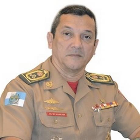 Secretário estadual de Defesa Civil, Ronaldo Alcântara, pede exoneração após ação que prendeu mais de 30 bombeiros Foto: Reprodução