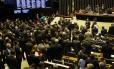 O plenário da Câmara dos Deputados Foto: Givaldo Barbosa / Agência O Globo / 12-9-17