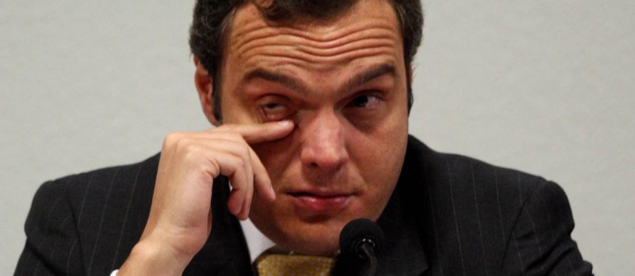 O doleiro Lúcio Bolonha Funaro - 28/04/2010 Foto: Gustavo Miranda / Agência O Globo