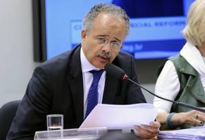 O relator da reforma política, deputado Vicente Cândido (PT-SP) Foto: LUCIO BERNARDO JR / Agência Câmara 13/09/2017