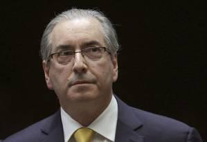 O ex-deputado Eduardo Cunha (PMDB-RJ) Foto: Eraldo Peres / AP