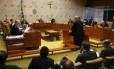 O STF adia julgamento sobre pedido para impedir Janot de apresentar nova denúncia contra Temer Foto: Givaldo Barbosa / Agência O Globo