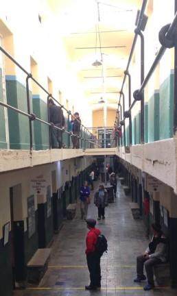 Museu Marítimo e do Presídio do Fim do Mundo, em Ushuaia, Argentina Foto: Léa Cristina / Agência O Globo