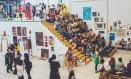 Espaço sustentável: galpão da Malha vem se tornado um ponto de encontro criativo no bairro imperial Foto: Divulgação