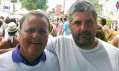 O advogado Gustavo Ferraz (à dir.) se diz traído por Geddel Foto: Agência O Globo