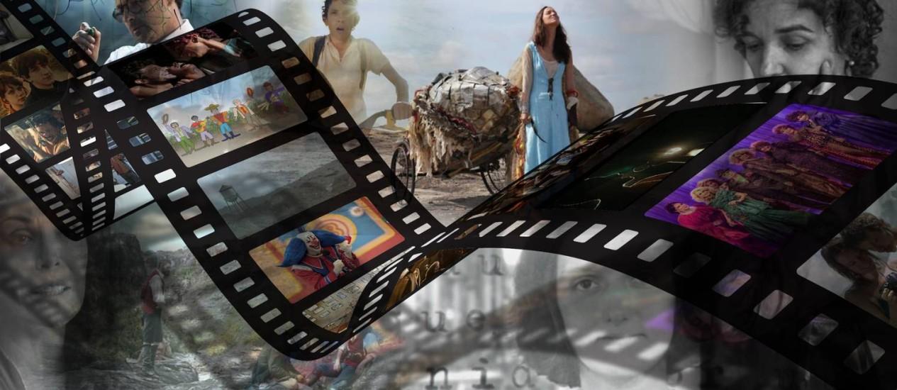 'Bingo', 'Como nossos pais' e 'Gabriel e a montanha' são alguns dos filmes cotados Foto: Reprodução