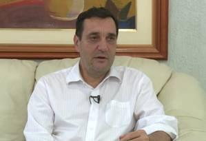 Reitor da UFSC foi preso pela PF Foto: Reprodução/TV UFSC