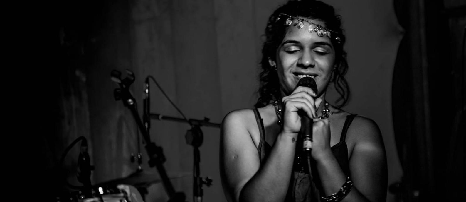 A cantora paulista, radicada em Salvador, Talita Avelino Foto: Geraldo Melo / Divulgação