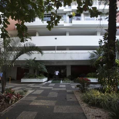 A psicólogia Maria Maria Lúcia Magalhães, de 72 anos, foi encontrada morta dentro de seu apartamento, na Rua Barão da Torre, em Ipanema Foto: Alexandre Cassiano / Agência O Globo