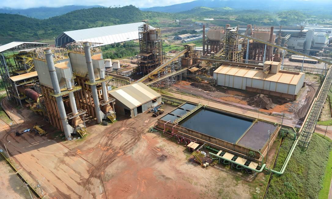 Ourilândia do Norte, Pará (PA). Vista aérea da Unidade Operacional Onça Puma, primeira a produzir ferro-níquel no Brasil. Foto: Salviano Machado / Agência O Globo