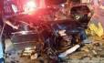 Acidente de trânsito em rua brasileira: jovens são maiores vítimas