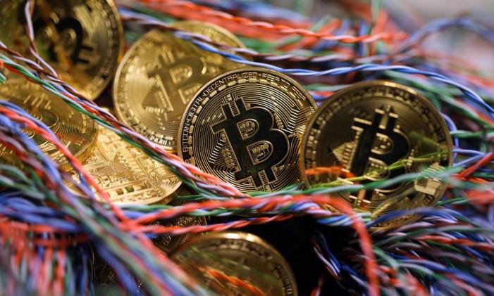 Bitcoins Foto: Chris Ratcliffe / Bloomberg