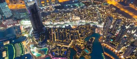 Cena noturna em Dubai Foto: Getty Images