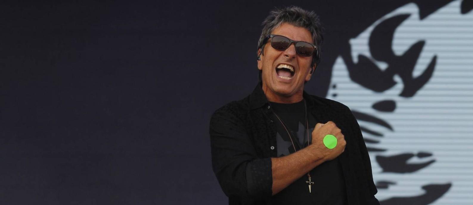 Crítica: Rock bem-humorado da Blitz alegra o sábado no Sunset Foto: Pedro Teixeira / Agência O Globo