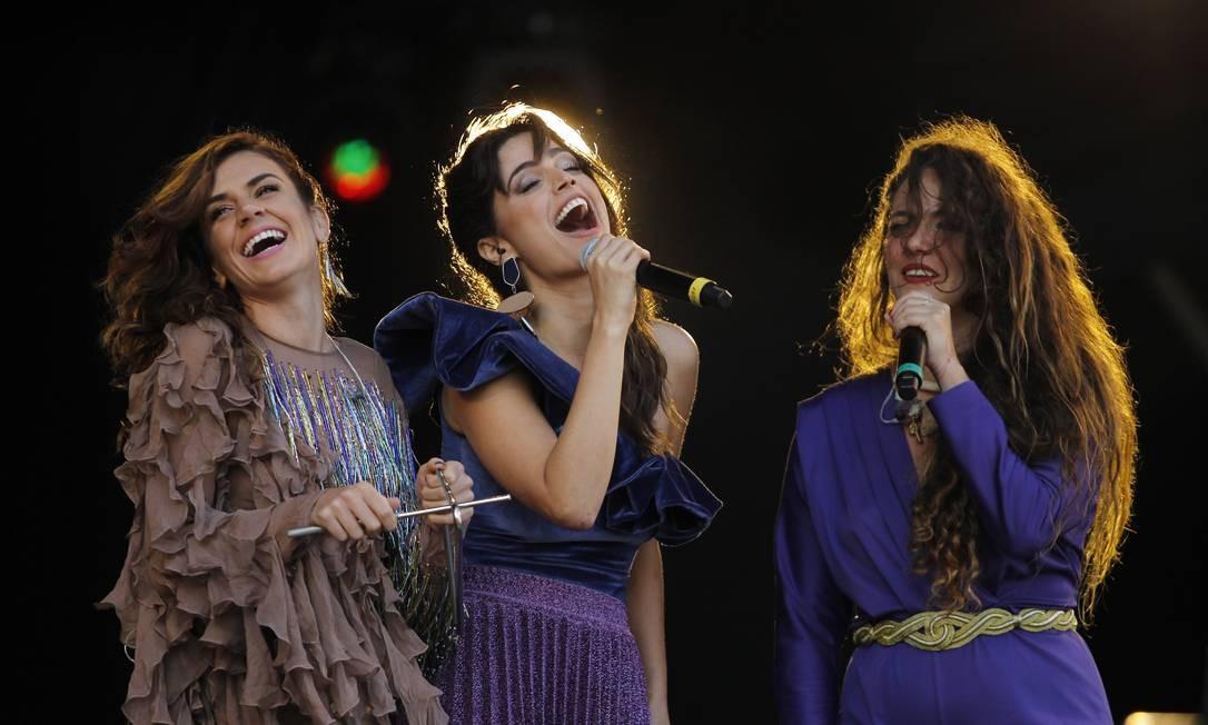 Mariana Aydar, Emanuelle Araújo e Tiê cantaram músicas de João Donato Foto: Pedro Teixeira / Agência O Globo