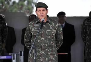Antonio Hamilton Mourão Foto: Divulgação/Exército