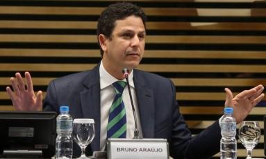 Bruno Araújo, que comanda o Ministério das Cidades: PSDB é o partido que mais recebe recursos da pasta Foto: Pedro Kirilos / Pedro Kirilos 06-10-2016