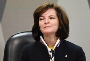 Raquel Dodge, que assume a Procuradoria-Geral da República: posse terá Temer, denunciado por Janot Foto: EVARISTO SA/AFP/12-7-2017