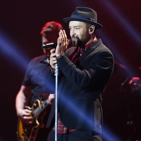 Justin Timberlake no Rock in Rio 2017 Foto: PABLO JACOB / O Globo