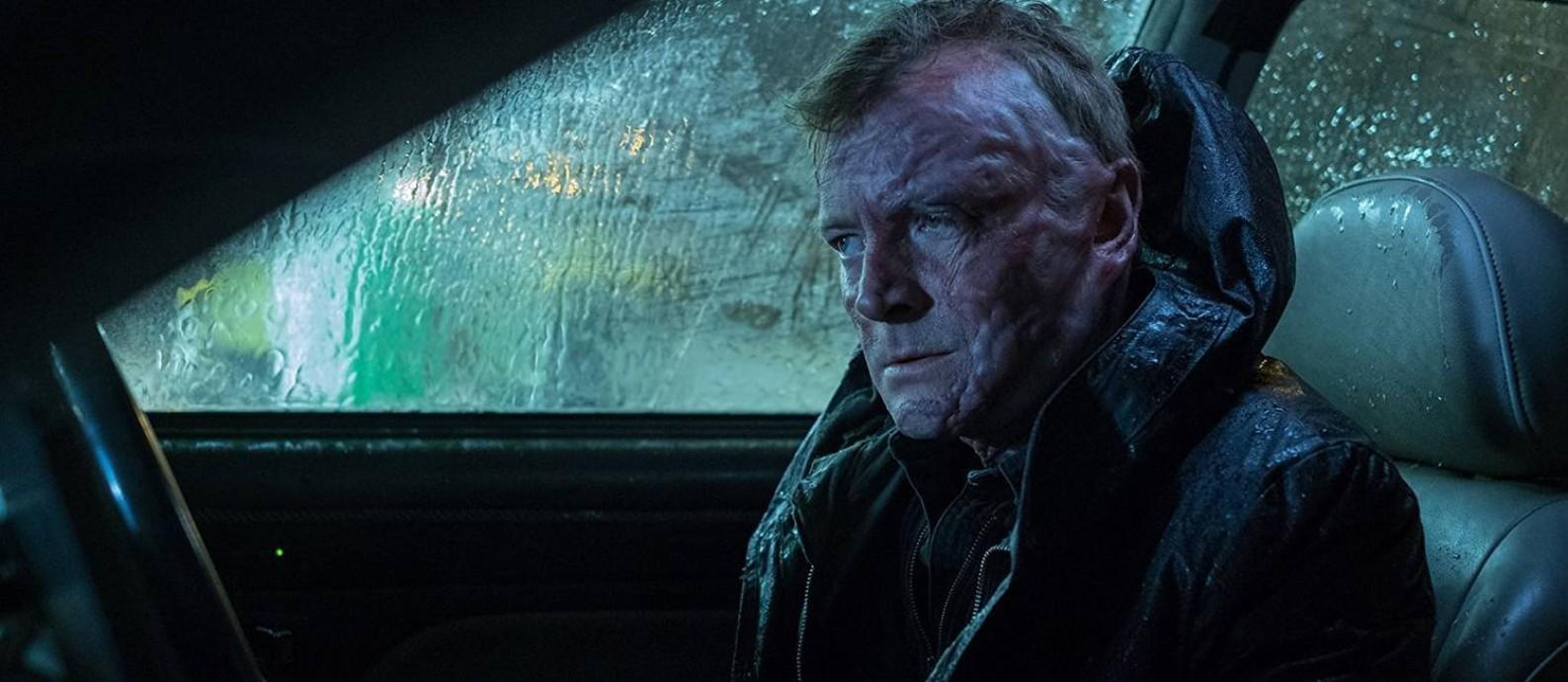 O ator Richard Dormer, que também atua em 'Game of thrones', em cena de 'Rellik' Foto: Divulgação