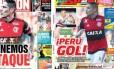 Guerrero é destaque em dois jornais peruanos Foto: Reprodução