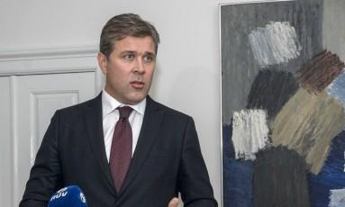 O primeiro ministro islandês, Bjarni Benediktsson. Foto: GEIRIX / REUTERS