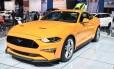 O Mustang deve seguir a mesma receita já utilizada no Camaro e ser oferecido em versão única Foto: Foto: Jason Vogel