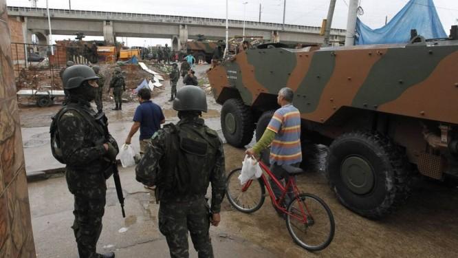 Ausência das ruas. Última ação dos militares foi no dia 21 de agosto deste ano, em apoio à polícia, no Jacarezinho Foto: Pedro Teixeira / Agência O Globo