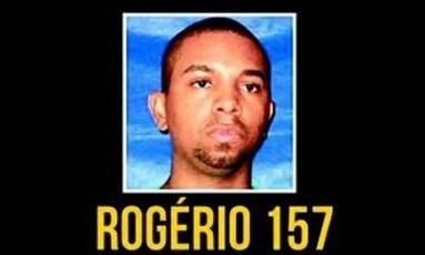 Ex-aliado, Rogério 157 agora é inimigo de Nem da Rocinha Foto: Divulgação