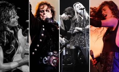 Tyler Bryant, Alice Cooper, The Kills e Ana Cañas se apresentam no palco Sunset no dia 21/9 Foto: Reprodução