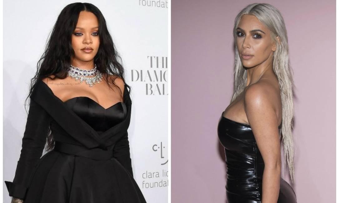 6fce13997d Kim Kardashian é acusada de copiar sapato de Rihanna. Entenda ...