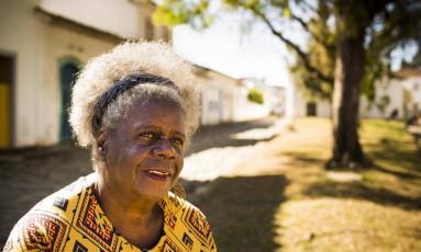 Conceição Evaristo foi aclamada durante a Flip Foto: Monica Imbuzeiro / Agência O Globo