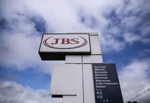 Fábrica da JBS na cidade de Lapa, no Paraná Foto: Reuters