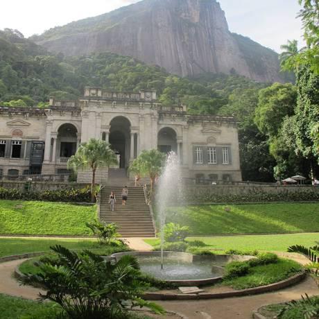 Parque Lage, no Jardim Botânico Foto: Arion Lucas