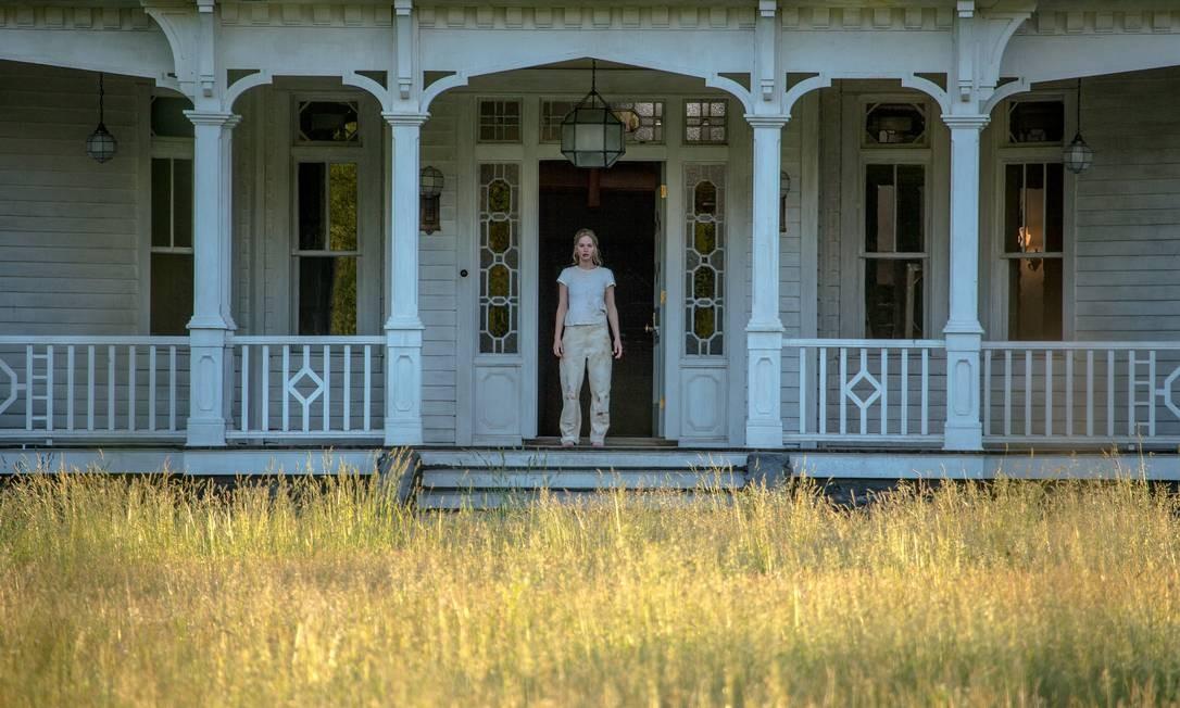Jennifer Lawrence em cena de