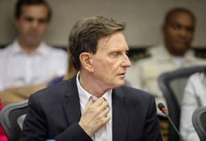 O prefeito do Rio, Marcelo Crivella Foto: Brenno Carvalho / Agência O Globo
