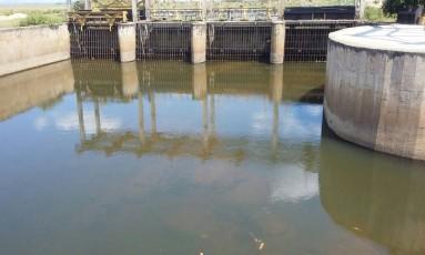 Estiagem diminui nível do Rio Guapi-Macacu Foto: Klinton Vieira Senra / Estação Ecológica da Guanabara