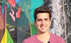 Brasileiro Vinicius Covas mora há três anos no México e sentiu efeitos do terremoto Foto: Reprodução/Facebook